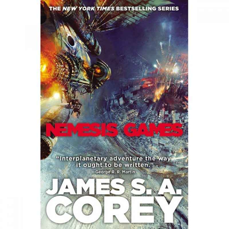 nemesis games hardcover