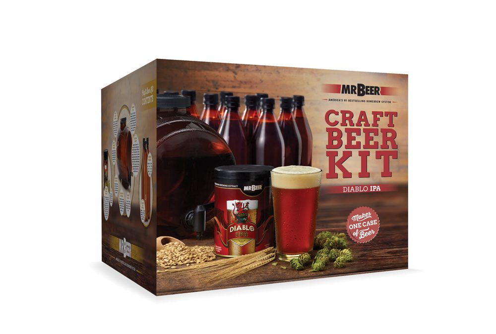 Home Brewing with Mr Beer