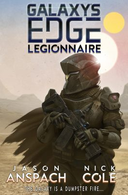 galaxy edge book 1 Legionaire